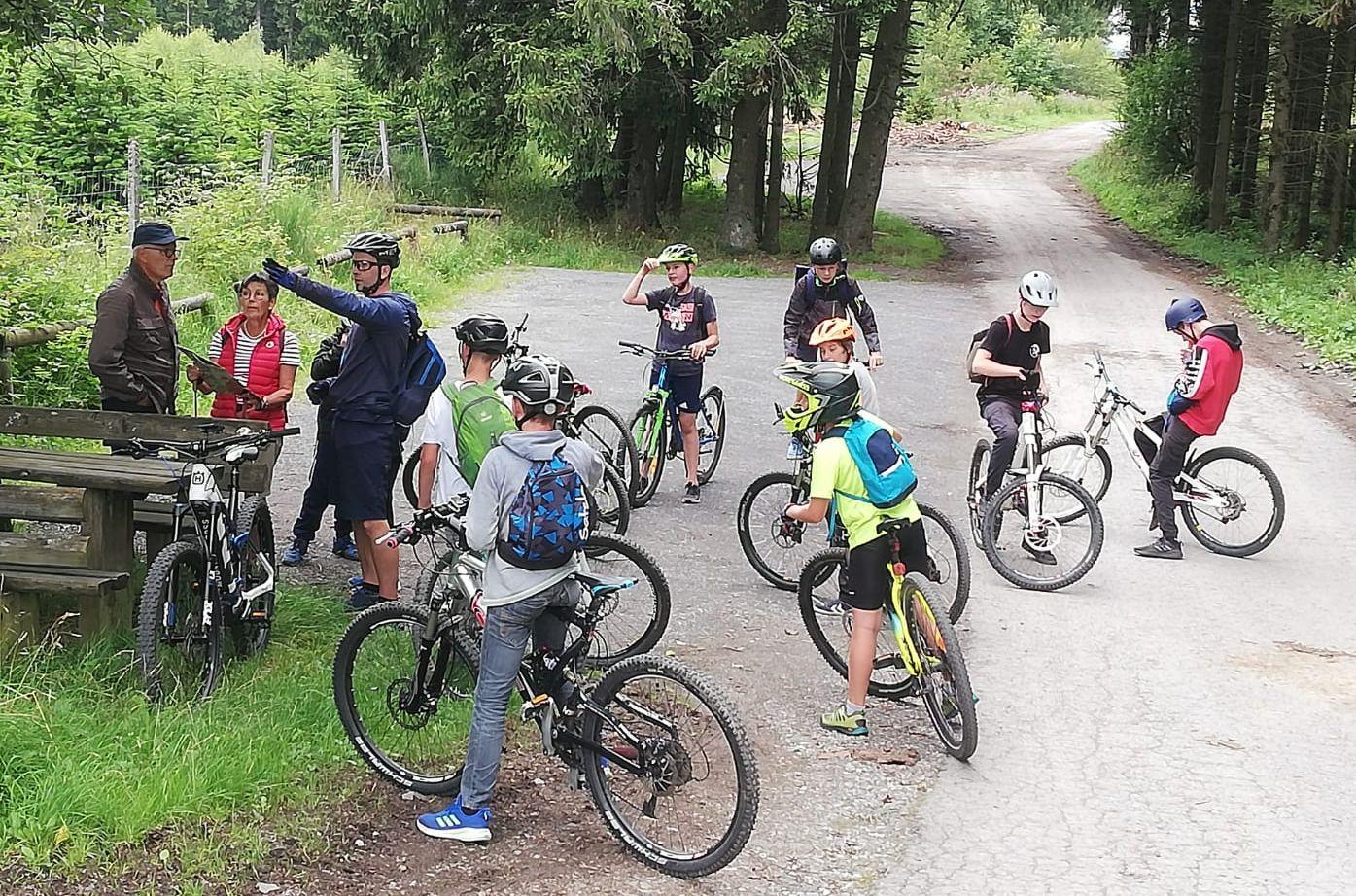 FCC Sommerferienprogramm: 1. Mountainbike-Ride