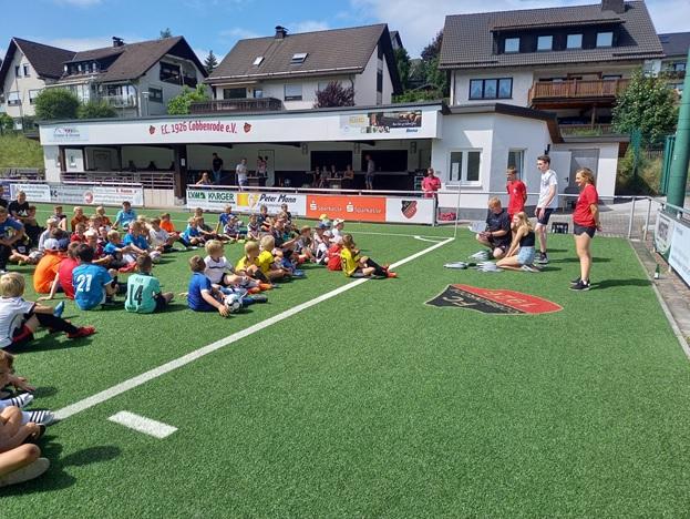 REWE Fußballcamp ein voller Erfolg